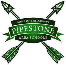 Pipestone Area Schools Green Arrow Logo