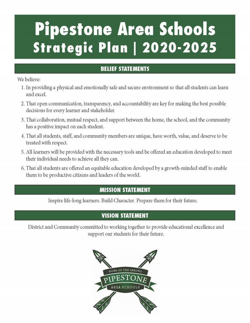 PAS Strategic Plan